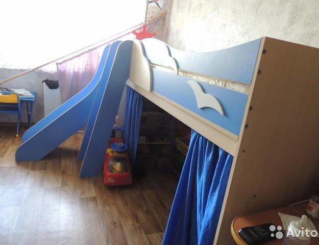 Кровать корабль. Фото 2. Пермь.