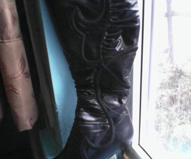 Новые зимние сапоги. Фото 2.