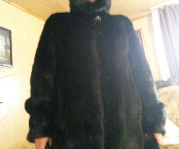 Шуба норковая цельная очень теплая. Фото 3. Барнаул.