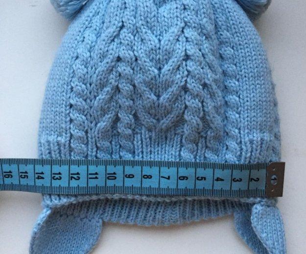 Детская зимняя шапочка с рождения. Фото 2. Киров.
