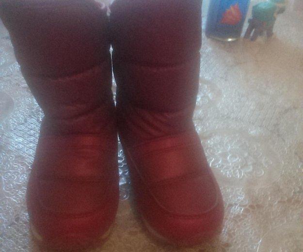 Дутики для девочки зимние. Фото 1. Тюмень.