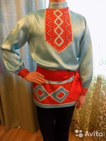 Русский костюм,рубашка. Фото 1. Казань.