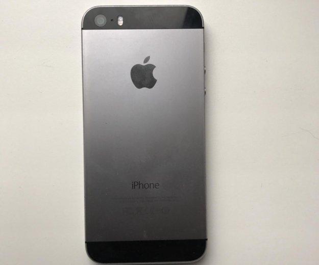 Iphone 5s space grey 16. Фото 1. Москва.