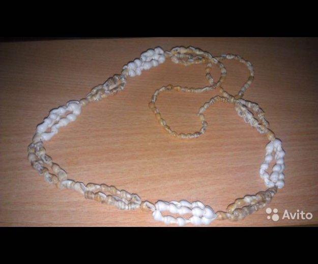 Ожерелье из ракушек. Фото 1. Челябинск.