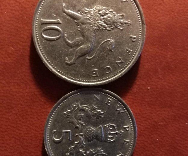 Монеты британии. Фото 2.