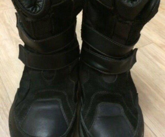 Ботинки зимние из натур. кожи и меха по стельке 23. Фото 1. Новосибирск.