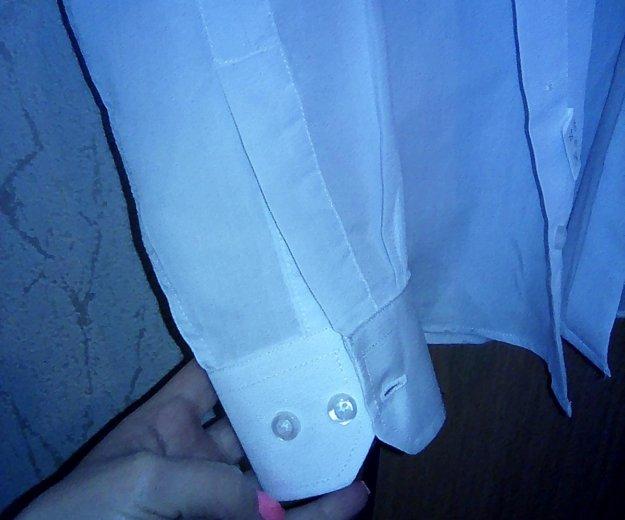 Рубашка белая на мальчика 110-116. Фото 2.
