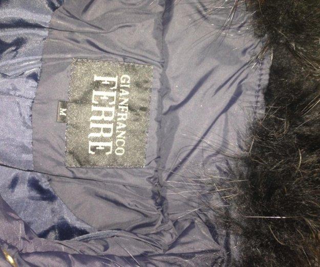 Пальто демисезонное темно синее. Фото 2. Электросталь.