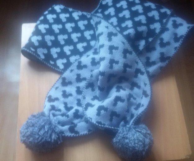Шапка, шарф, не комплект. Фото 1. Новосибирск.