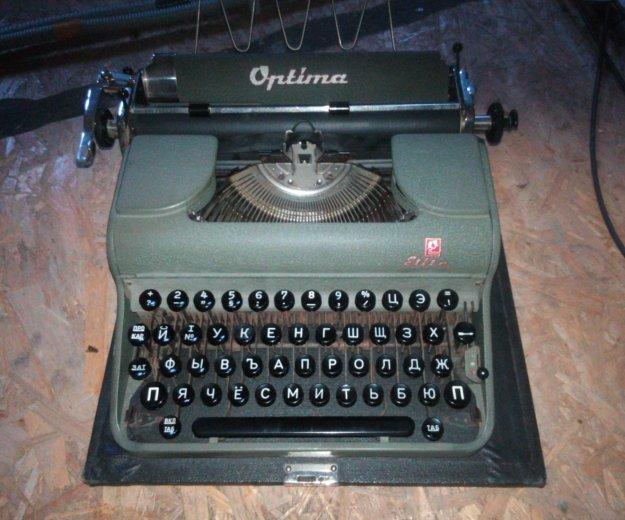 Печатная машинка optima. Фото 1.