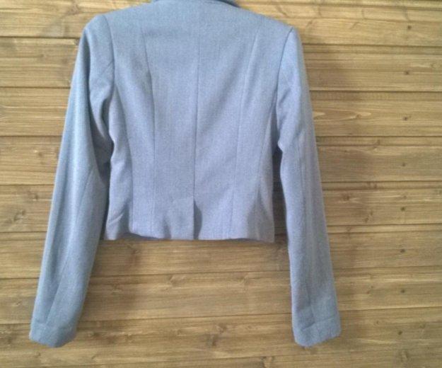 Серый классический пиджак h&m. Фото 2. Самара.