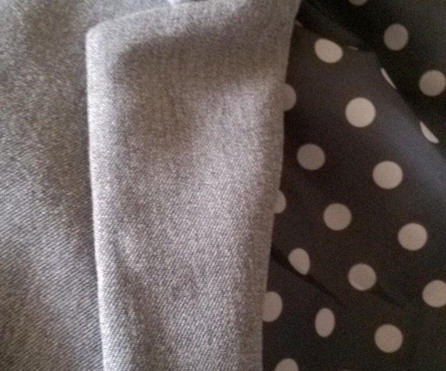Серый классический пиджак h&m. Фото 3. Самара.
