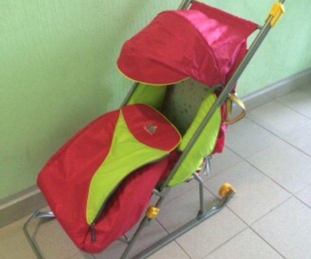 Санки коляска. Фото 1. Москва.