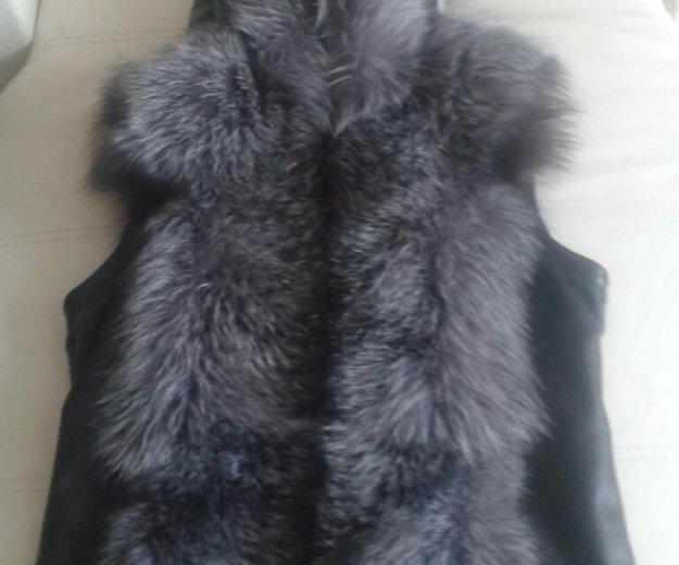 Куртка желетка. Фото 2. Железногорск.
