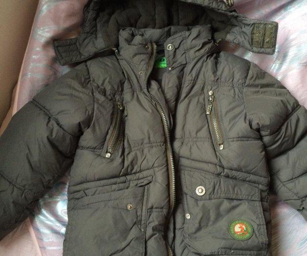 Куртка зимняя на мальчика 4-5 лет плюс подарок. Фото 1. Балашиха.