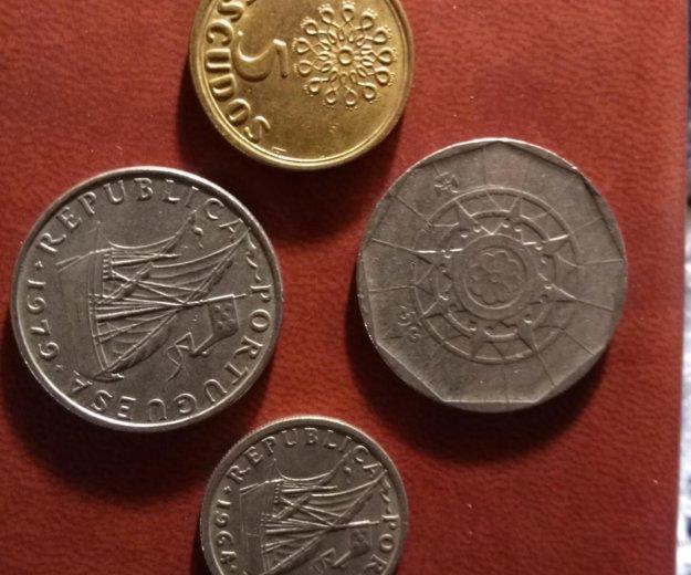 Монеты португалии. Фото 1. Санкт-Петербург.