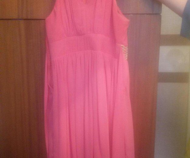 Прекрасное корраловое платье. Фото 1. Новосибирск.