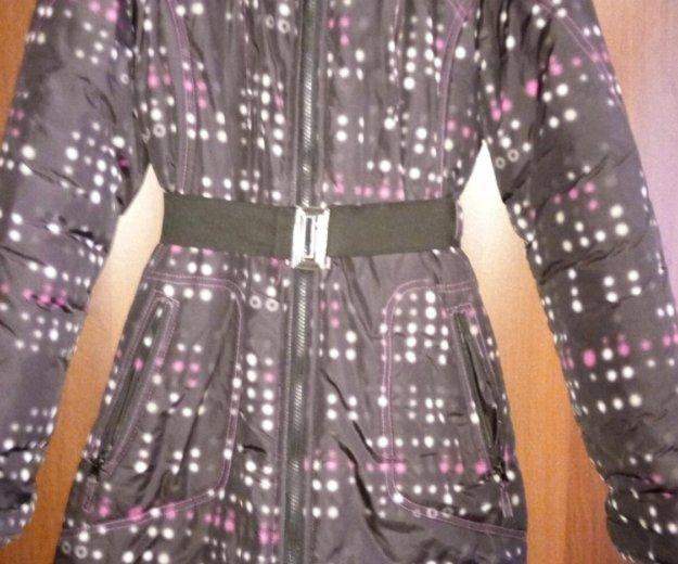 Пальто зимнее для девочки. Фото 1. Омск.