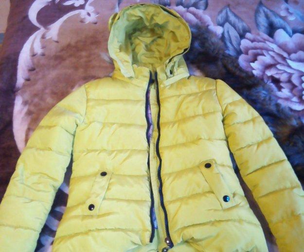 Куртка-пуховик,зима, р-42. Фото 2.