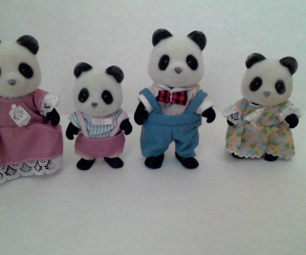 Sylvanian families семья панд. Фото 1. Курган.