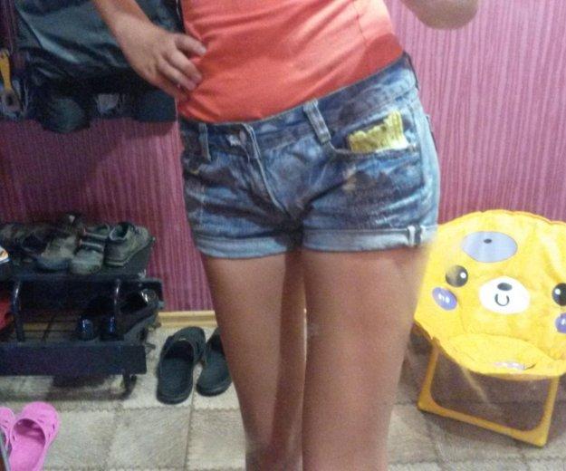 Джинсовые шорты. Фото 1. Комсомольск-на-Амуре.
