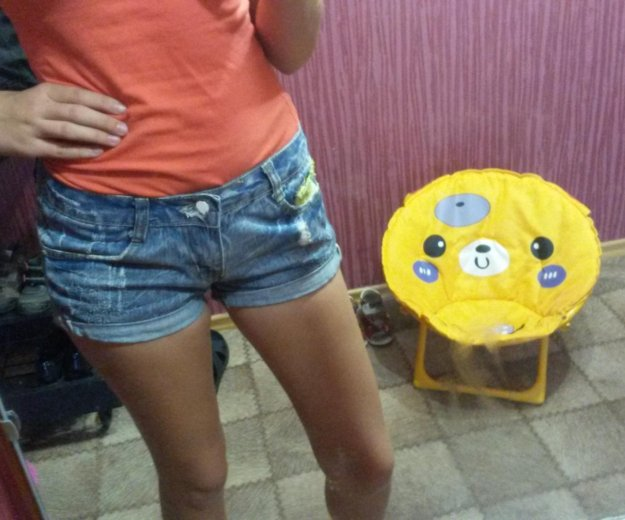 Джинсовые шорты. Фото 4. Комсомольск-на-Амуре.