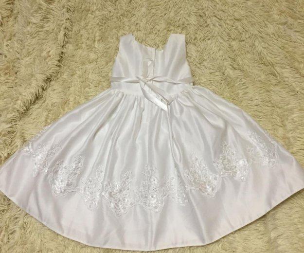 Платье белое 104. Фото 1. Кубинка.