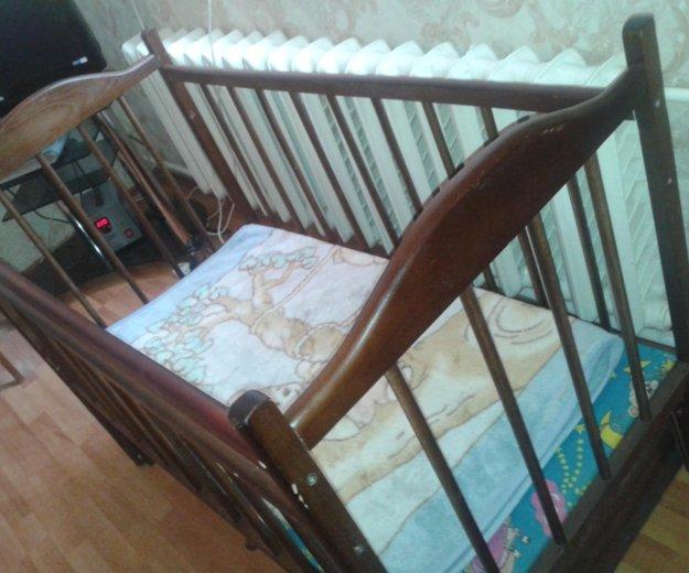 Кровать детская - качалка. Фото 1.