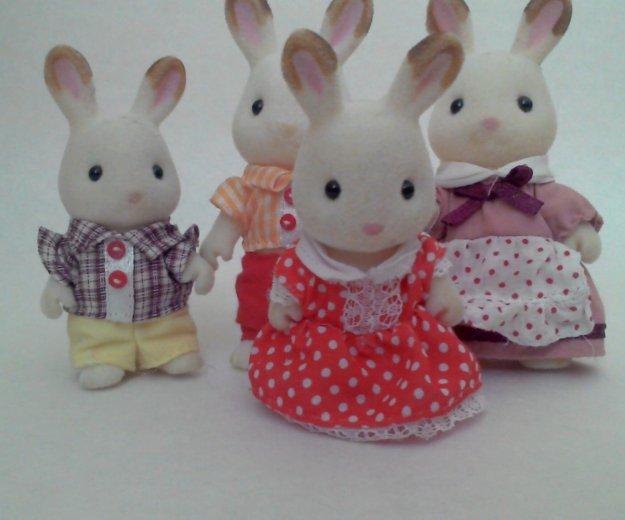 Sylvanian families семья кроликов. Фото 1. Курган.
