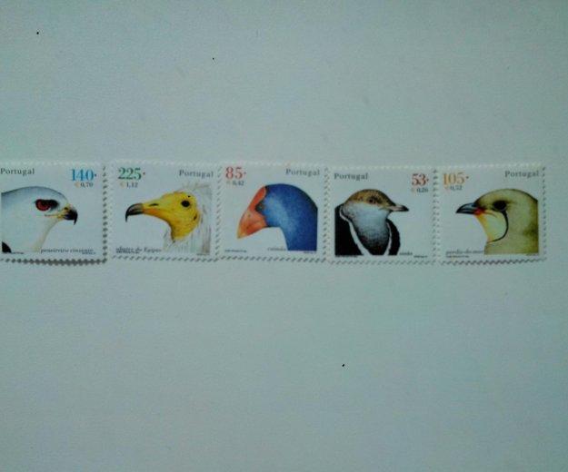 Марки португалии птицы. Фото 1. Владивосток.