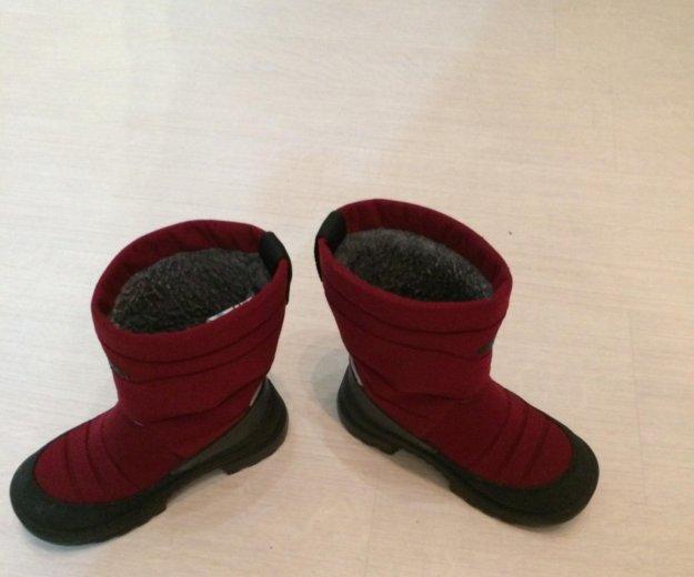 Зимние сапоги для девочки. Фото 2.