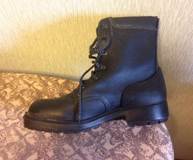 Новые кожаные  берцы, 28,5 размер. Фото 1. Разумное.