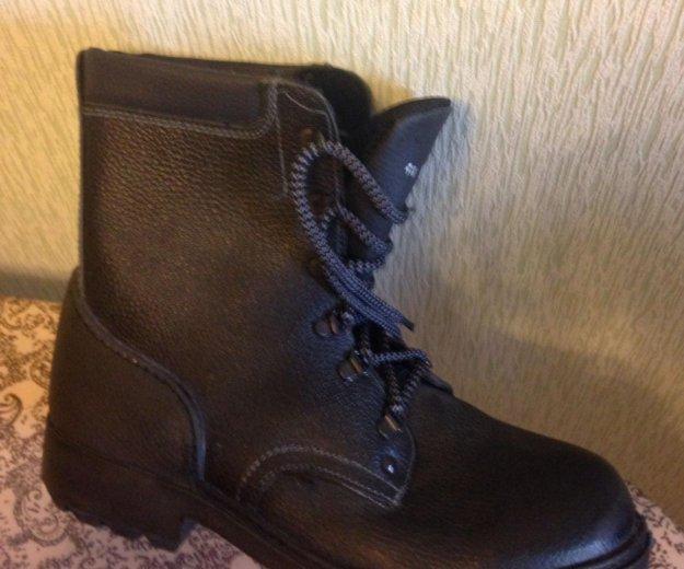 Новые кожаные  берцы, 28,5 размер. Фото 3. Разумное.