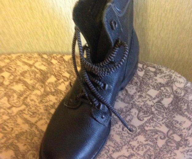 Новые кожаные  берцы, 28,5 размер. Фото 2. Разумное.
