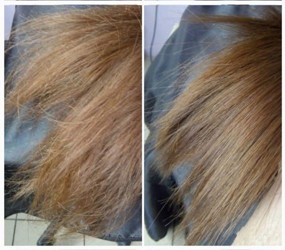 Полировка волос, удаление секущихся кончиков. Фото 1. Москва.