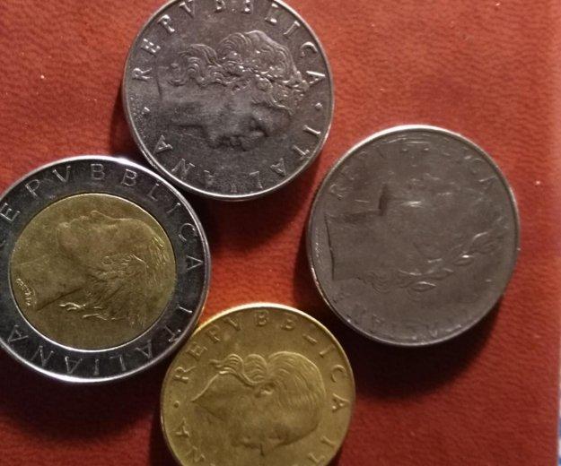 Монеты италии. Фото 1. Санкт-Петербург.