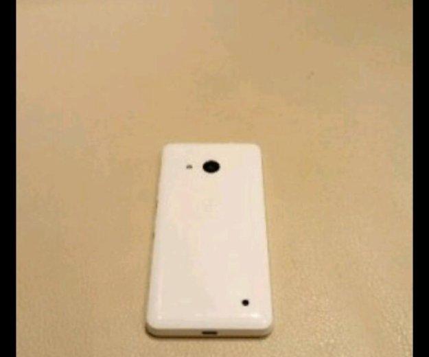 Microsoft lumia 550 white. Фото 2.