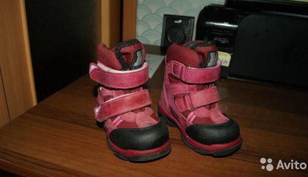 Детские зимние ботинки. Фото 2. Чехов.