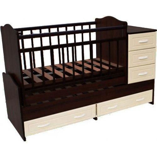 Породам детскую кроватку + матрас. Фото 2.