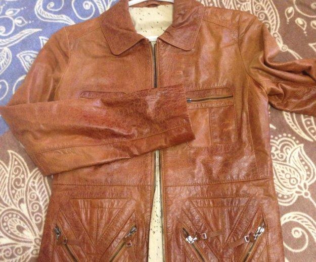 Куртка кожа женская. Фото 1. Красноярск.