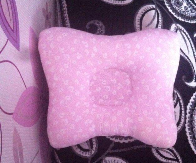Ортопедическая подушка для малышей.от кривошеи. Фото 1. Саратов.