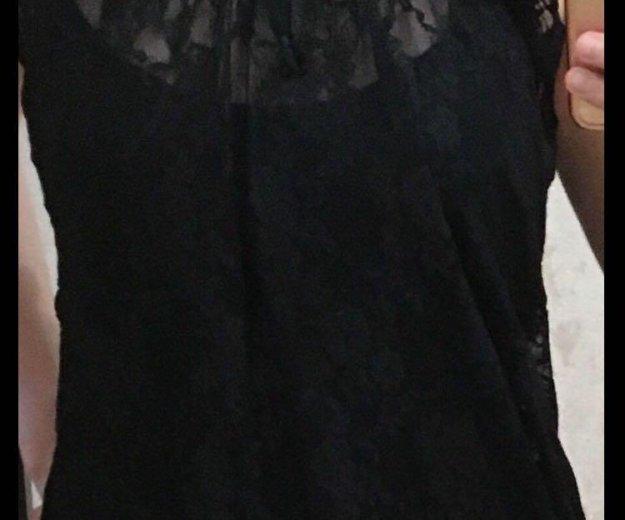 Блуза кружевная в идеальном состоянии 42-46. Фото 4. Новый Уренгой.