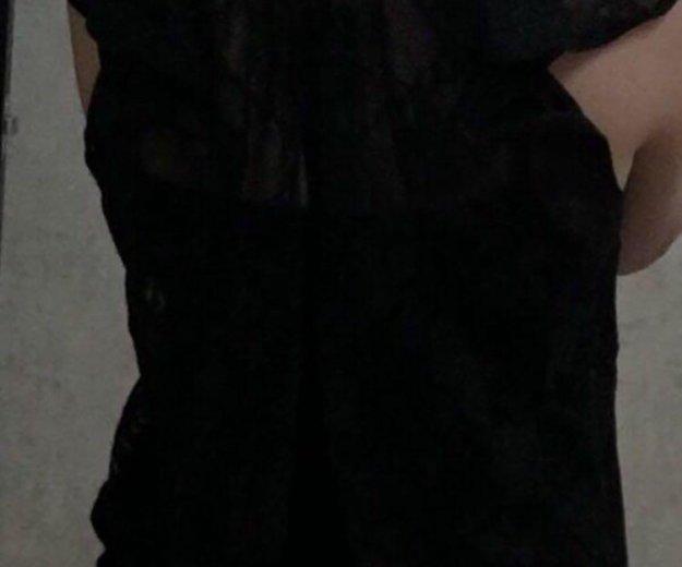 Блуза кружевная в идеальном состоянии 42-46. Фото 3. Новый Уренгой.