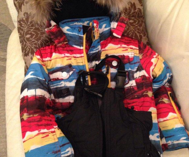 Зимний комплект куртка+штаны р.98. Фото 1.