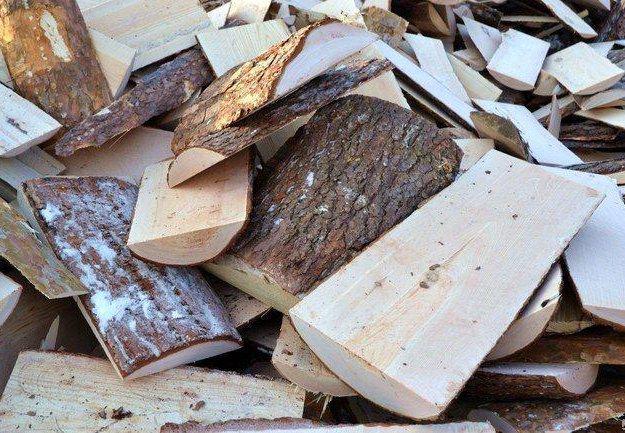 Сухие колотые дрова угол  доставка. Фото 1. Барнаул.