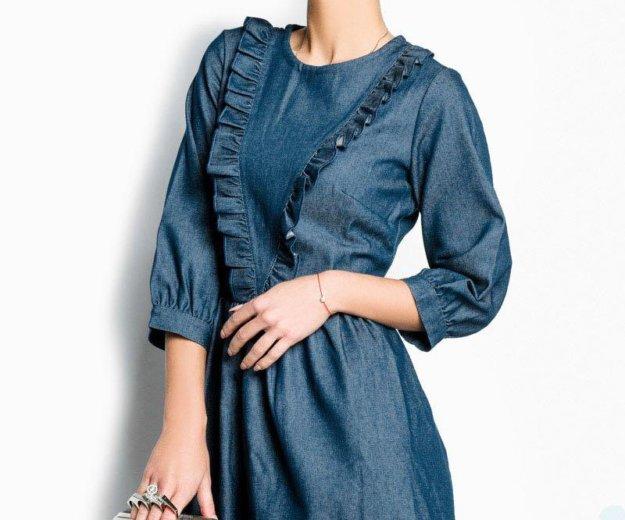 Джинсовое платье. Фото 1. Саратов.