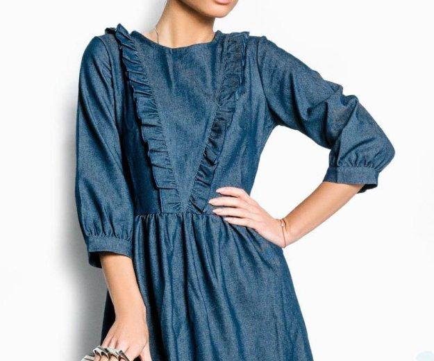 Джинсовое платье. Фото 2. Саратов.
