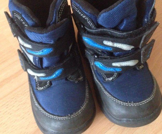 Ботинки 27 размер с флисом. Фото 1. Долгопрудный.