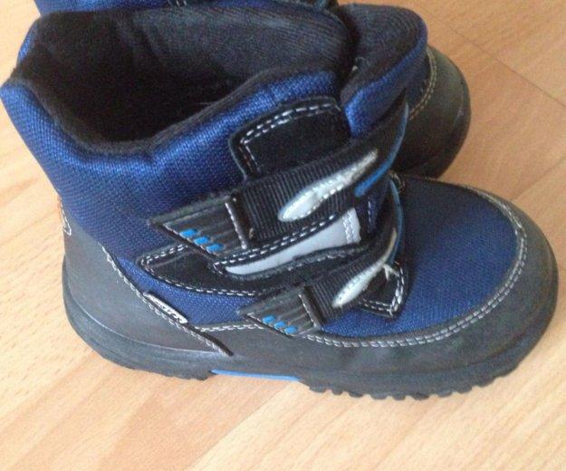 Ботинки 27 размер с флисом. Фото 2. Долгопрудный.