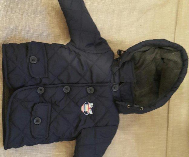 Курточка стеганная  6-12мес. Фото 1. Москва.